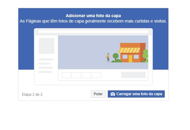 Criar capa no Facebook