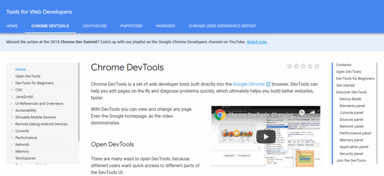 Google Chrome Tools