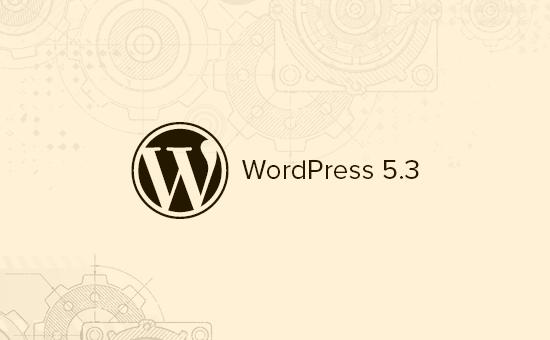 Wordpress 5.3