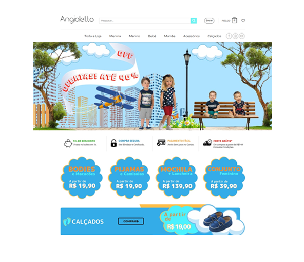 Angioletto Ecommerce