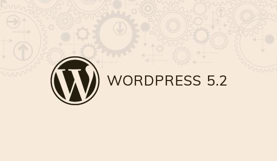 Wordpress 5.2